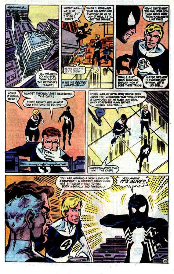 Amazing Spiderman #258, page 15