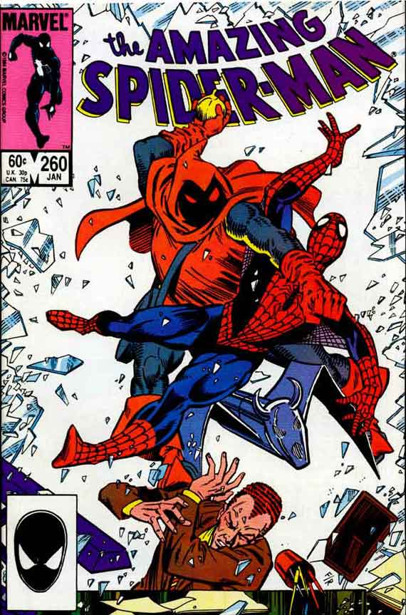 Amazing Spiderman #260, couverture