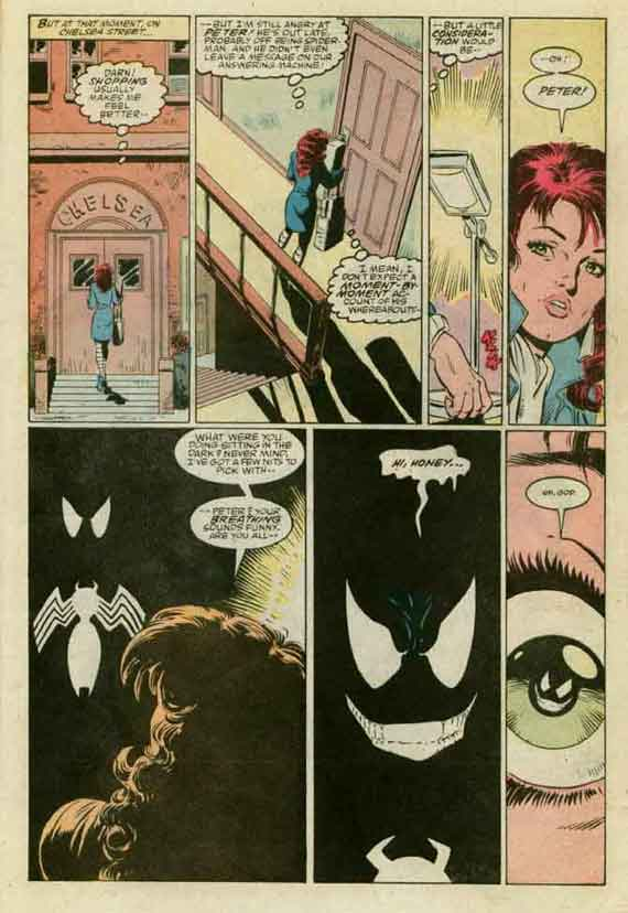 Amazing Spiderman #299, page 21