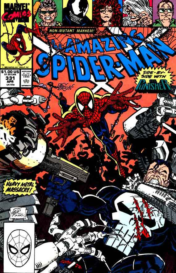 Amazing Spiderman #331, couverture