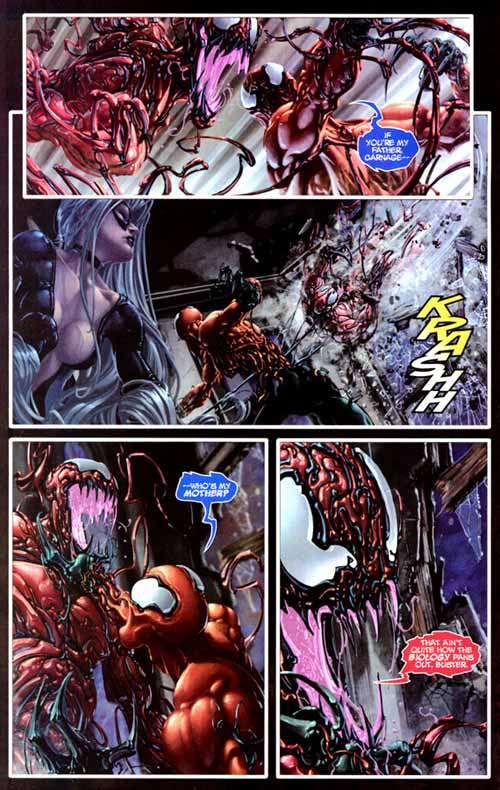 Comics Marvel, Venom Vs Carnage #3