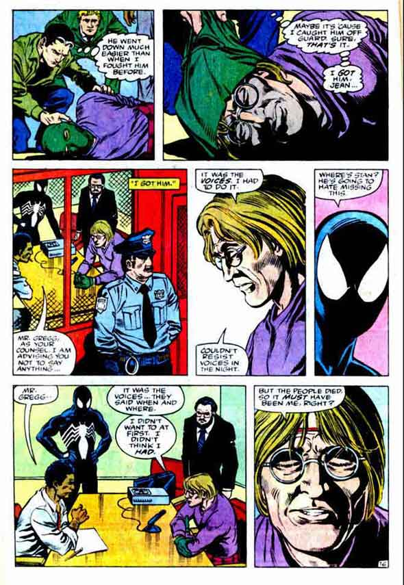 Spectacular Spider-man #109, page 16