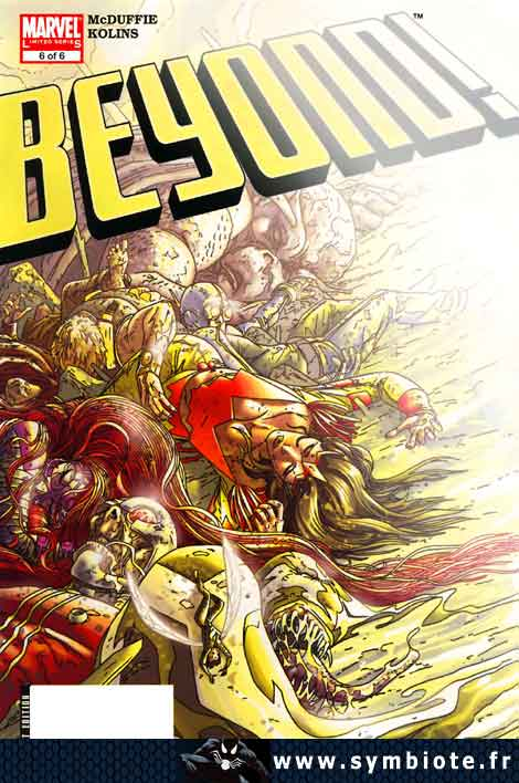 Marvel Beyond ! #6, couverture