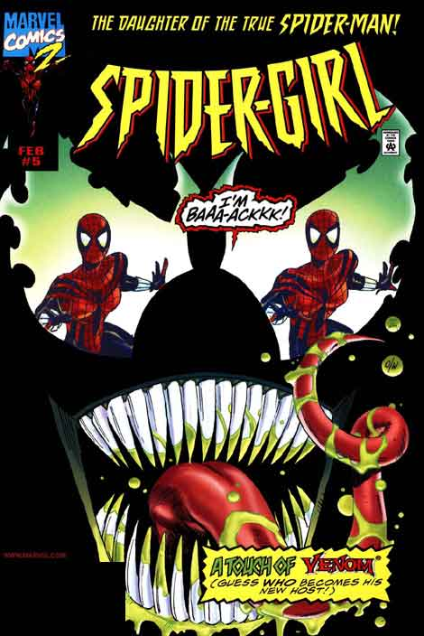 Spider-Girl #05, couverture