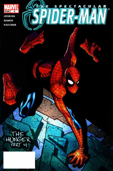 Comics Marvel, Spectacular Spider-Man V2 #04, couverture