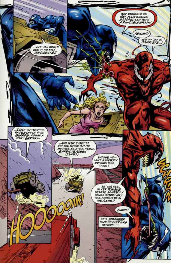 Comics Marvel, Venom Carnage Unleashed #2 page 16