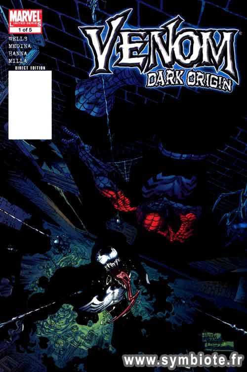 Venom Dark Origin cover