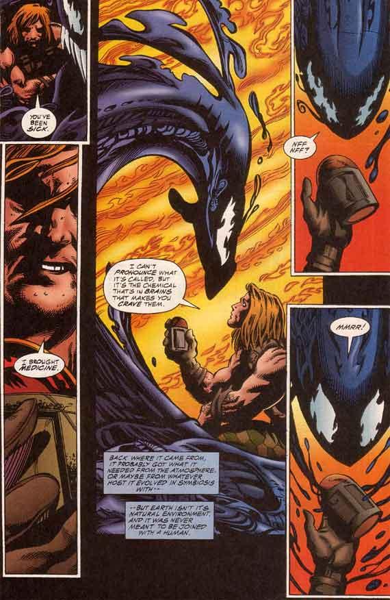 Venom The Hunger 4 Marvel 1996