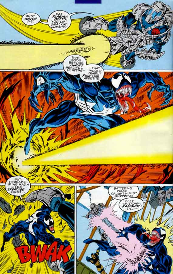 Comics Marvel, Venom Lethal Protector #3, page 10