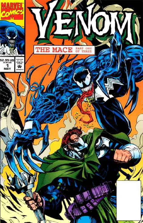 Comics Marvel, Venom The Mace #1, couverture