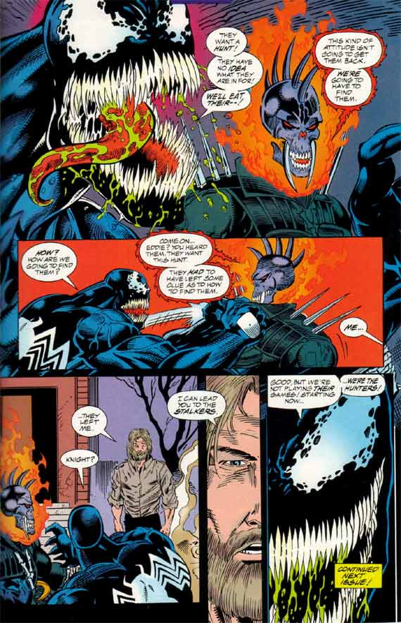 Comics Marvel, Venom Nights of Vengeance #1, page 21