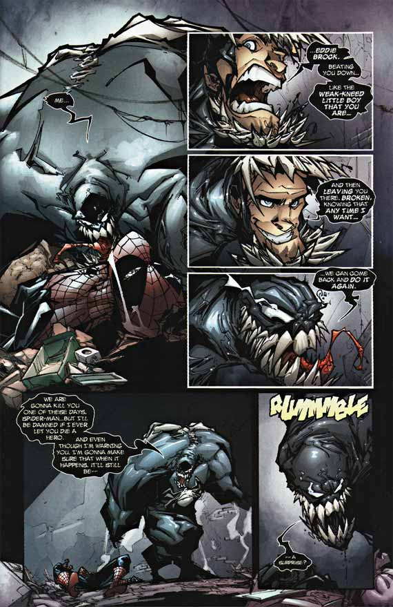 Comics Marvel, Venom Patterns #1