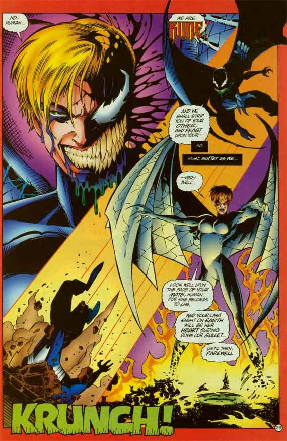 Comics Marvel, Rune Vs Venom
