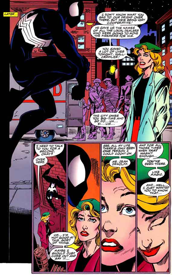 The symbiote : Things undreamt of