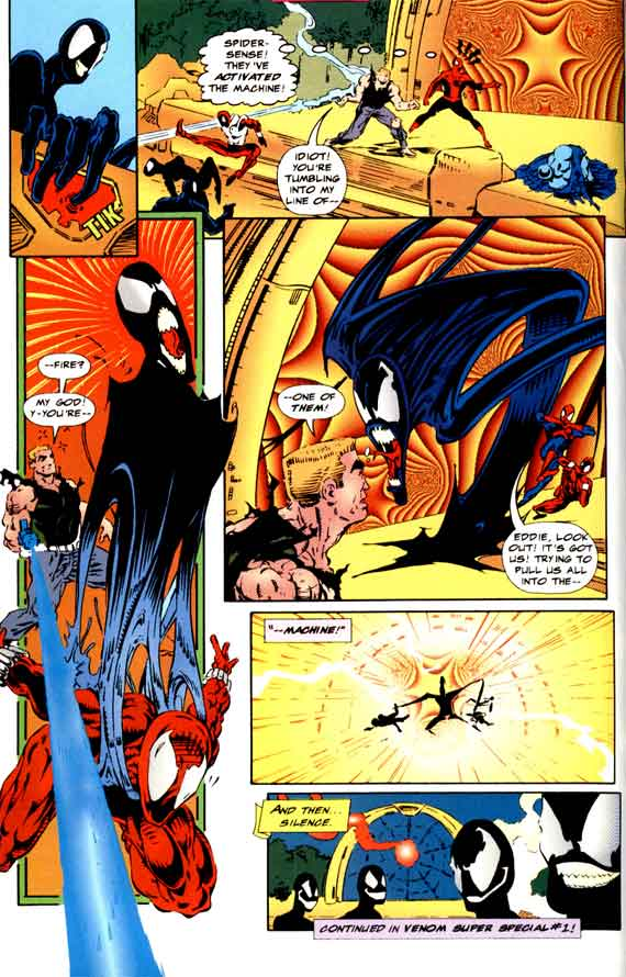 Comics Marvel, Planet of the symbiotes #2 page 22