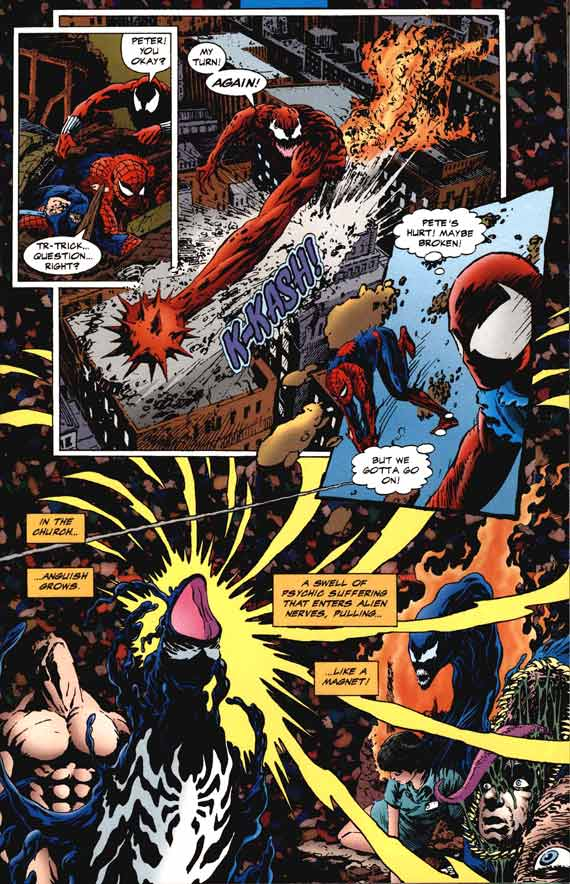 Comics Marvel, Planet of the symbiotes #5 page 14