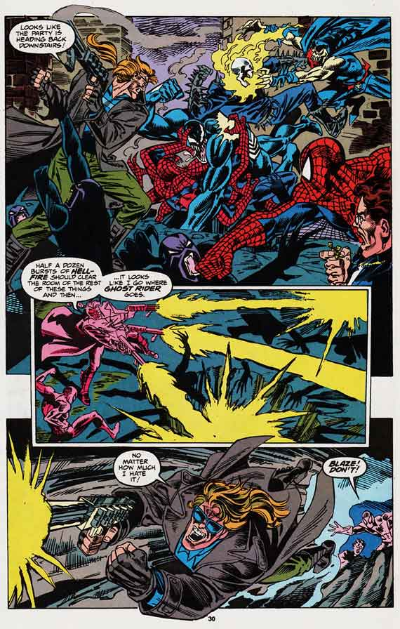 Web of Spider-man #95, page 30