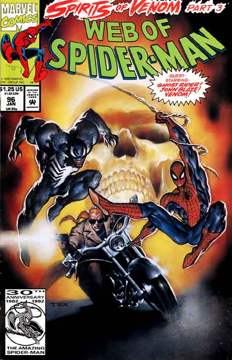 Web of Spider-man #96, couverture
