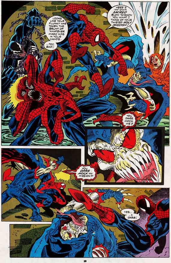 Web of Spider-man #96, page 25