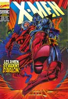X-men #25, couverture